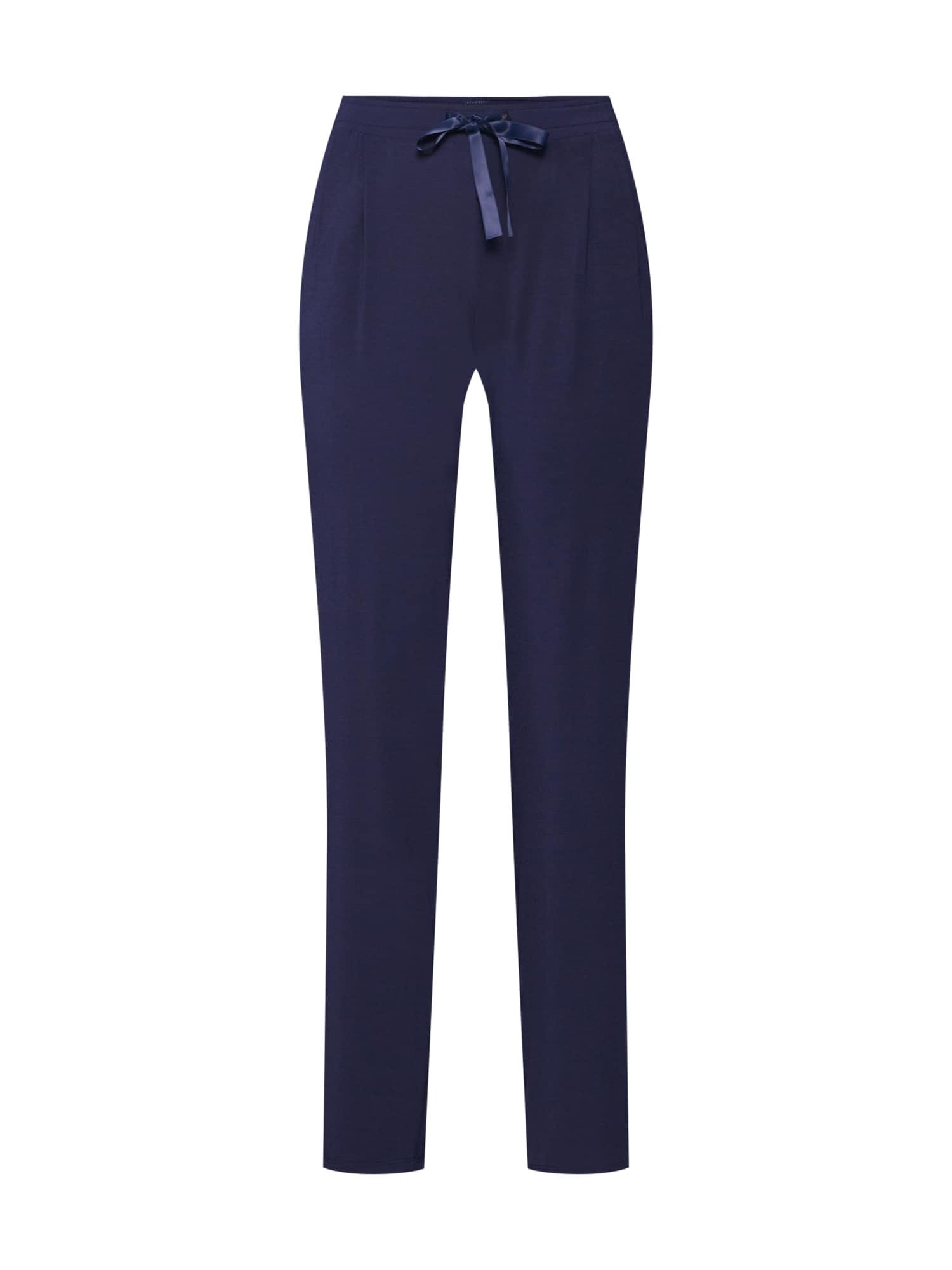 Pyžamové kalhoty noční modrá SCHIESSER