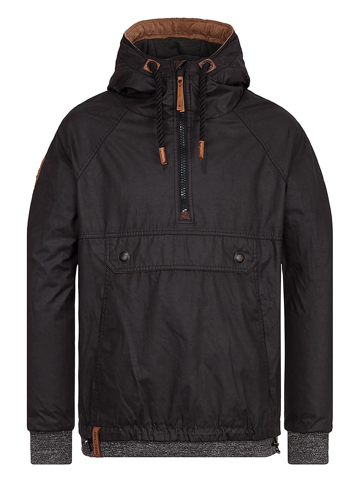Zimní bunda Hartgekochte Eierklatscher černá Naketano