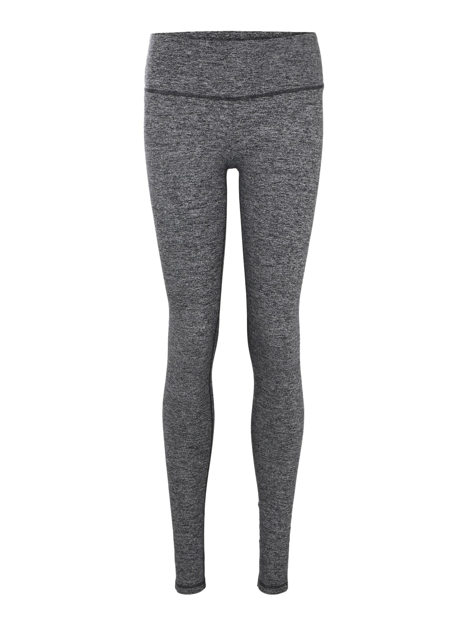 Sportovní kalhoty Yoga & Relax šedá černá Skiny