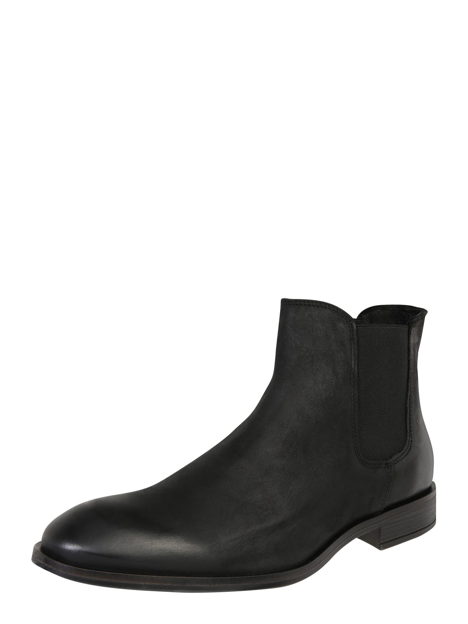 Chelsea boty černá Bianco