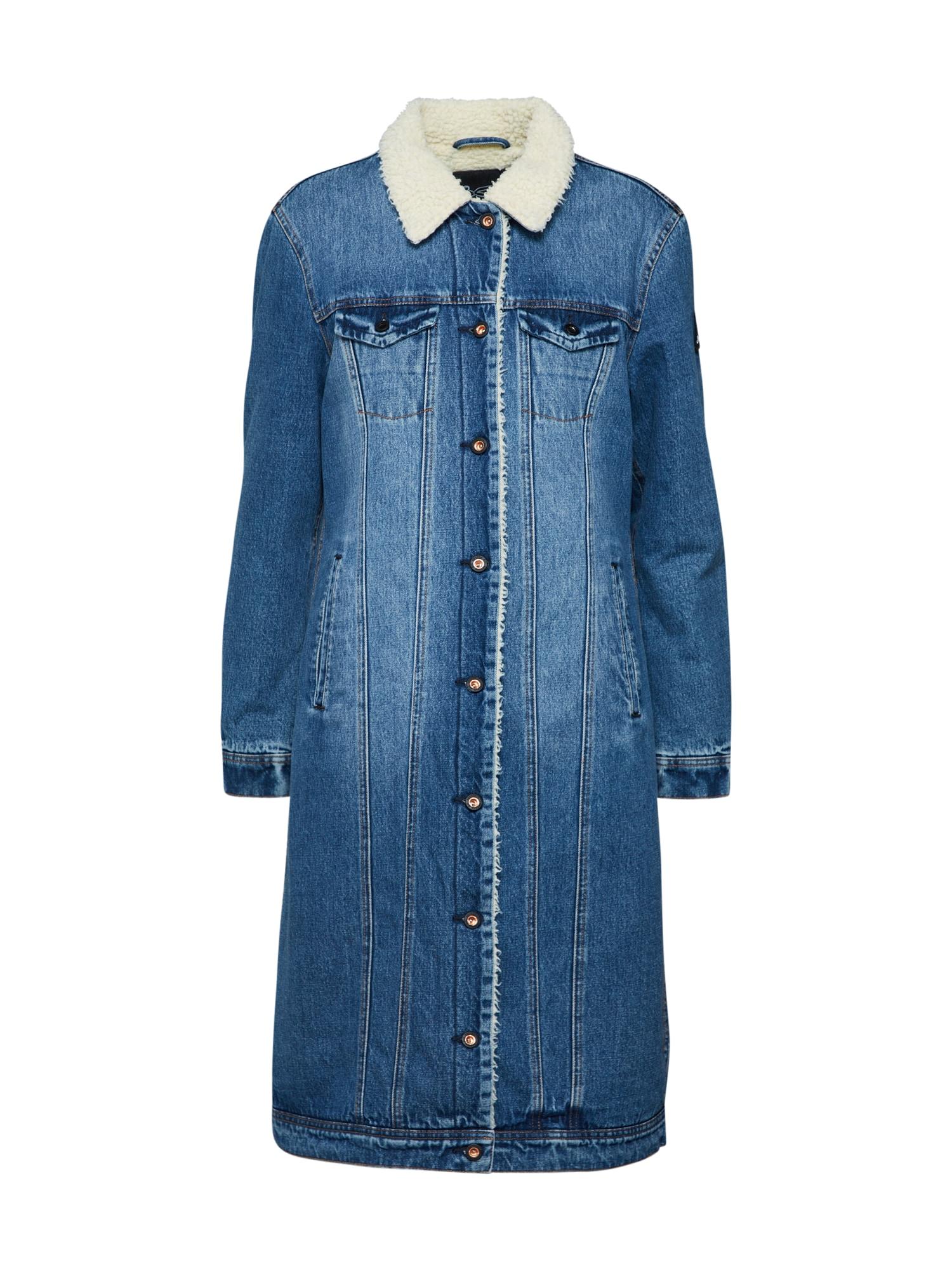 Přechodný kabát modrá DENHAM