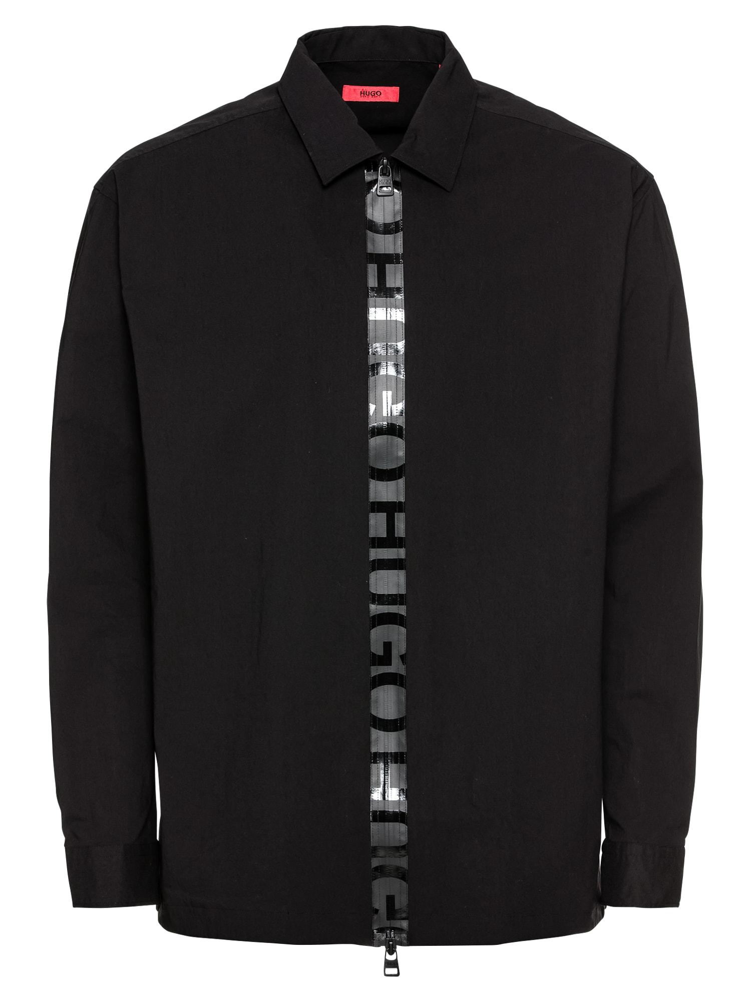 Košile Eiry 10211346 01 černá HUGO