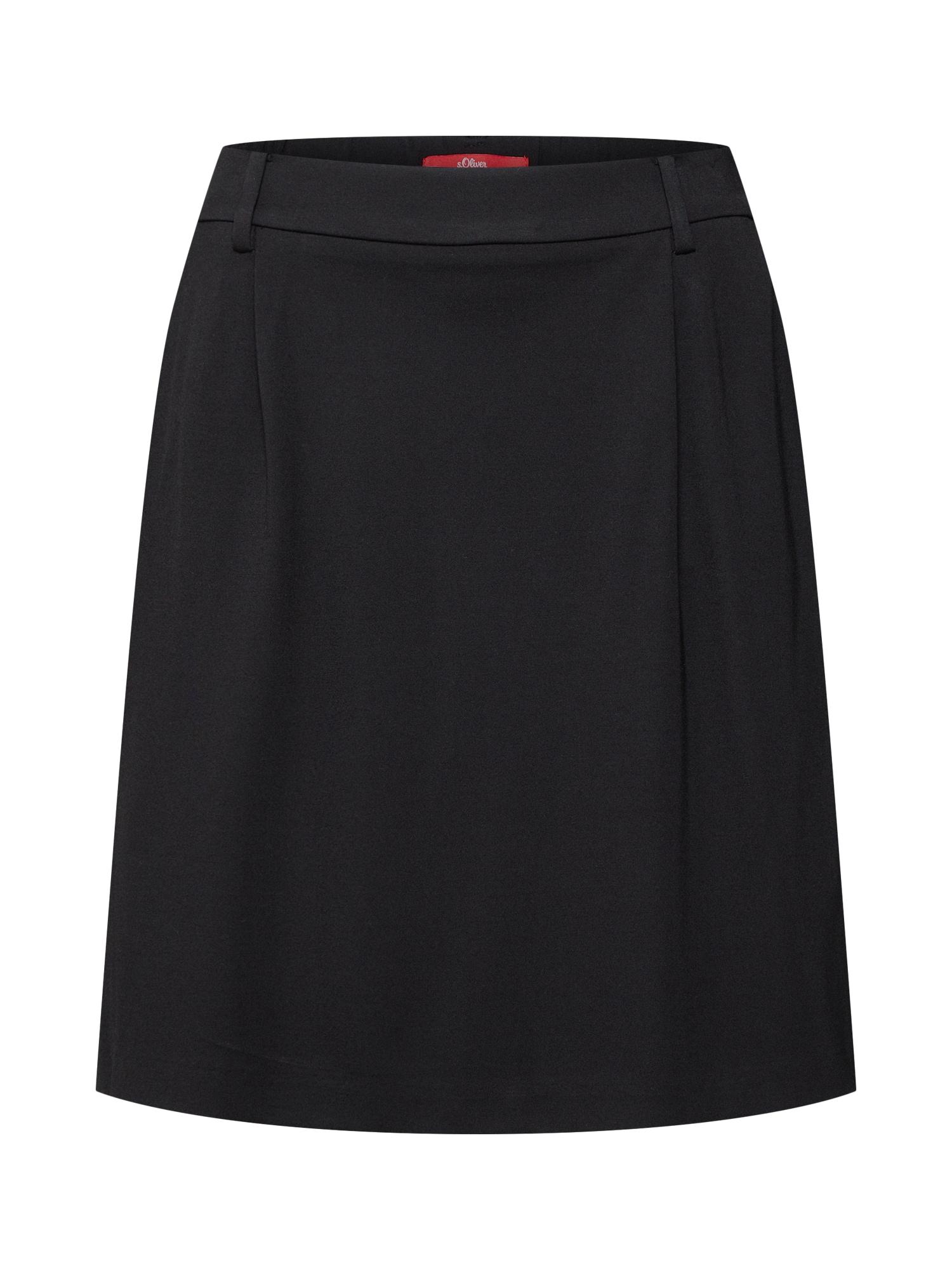 Sukně černá S.Oliver RED LABEL