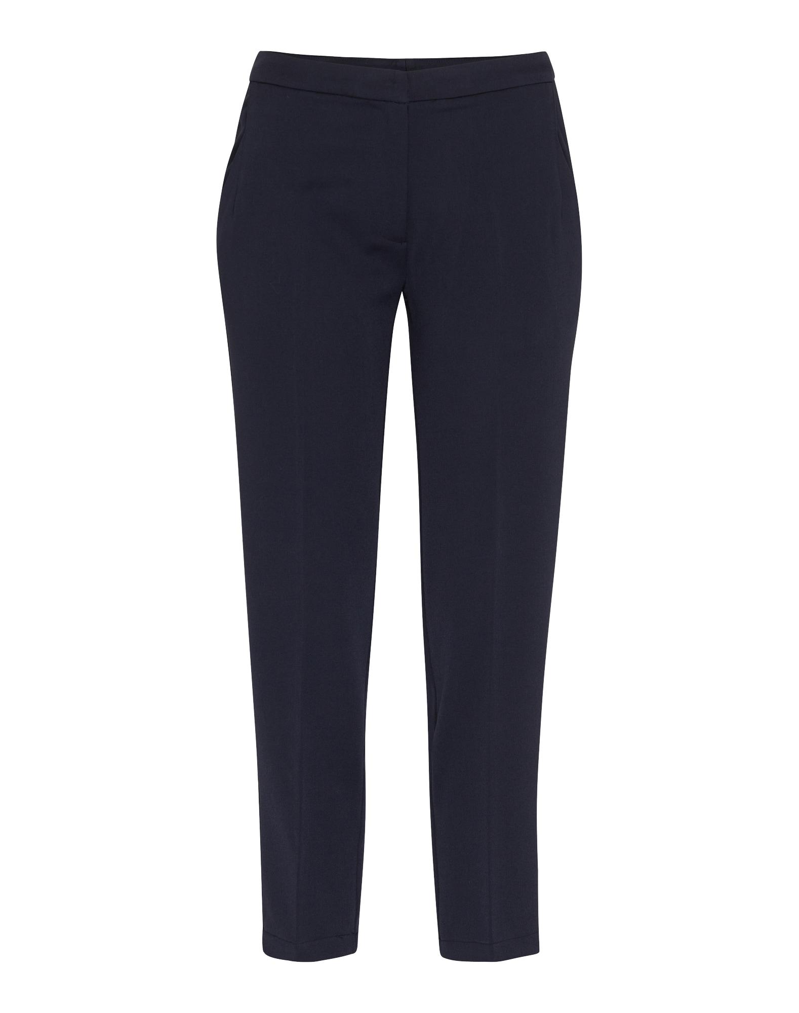 Kalhoty se sklady v pase Halle námořnická modř Minimum