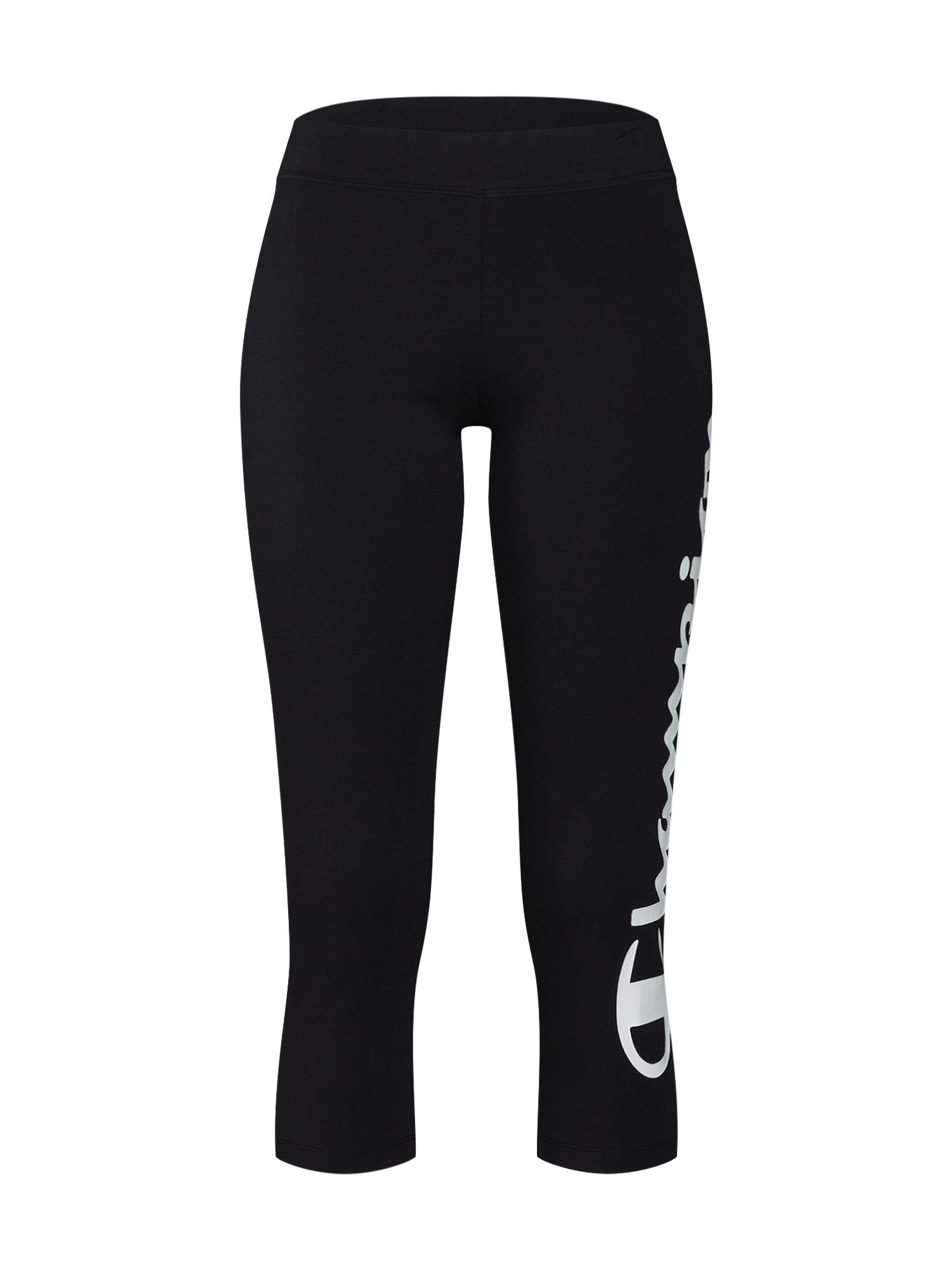 Sportovní kalhoty černá bílá Champion Authentic Athletic Apparel