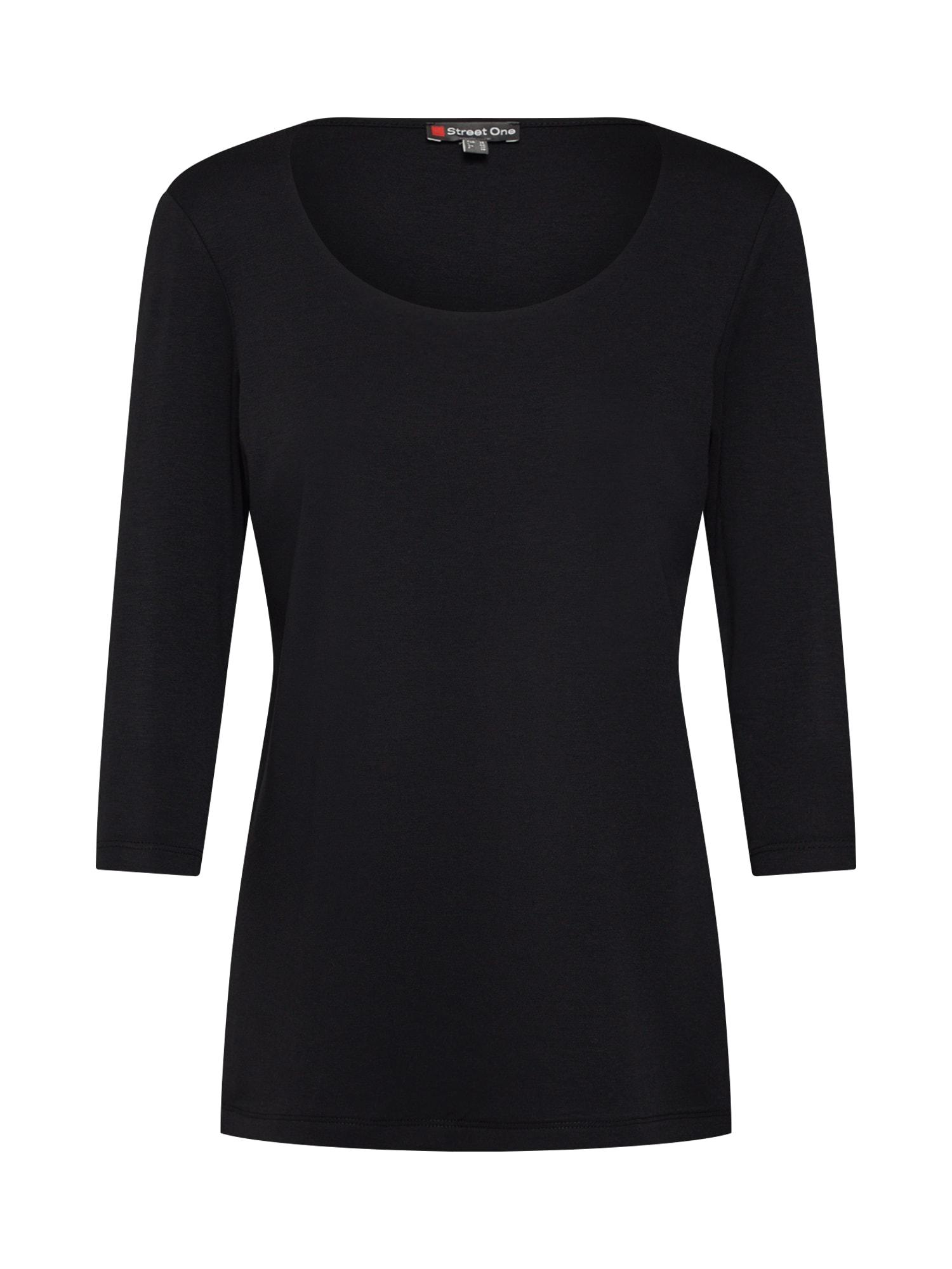 Tričko QR Pania černá STREET ONE