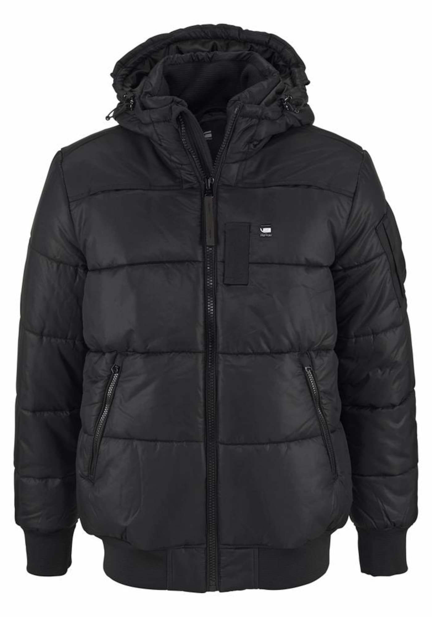 G-STAR RAW Heren Winterjas Whistler HDD Bomber zwart