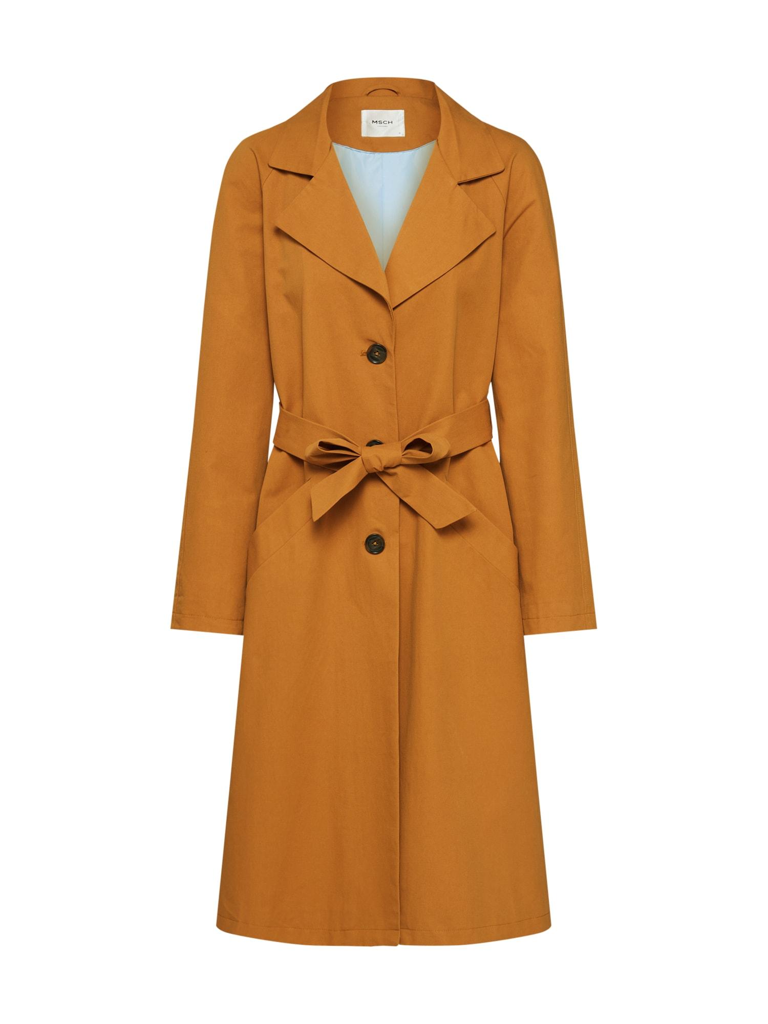 MOSS COPENHAGEN Rudeninis-žieminis paltas 'Angela' smėlio