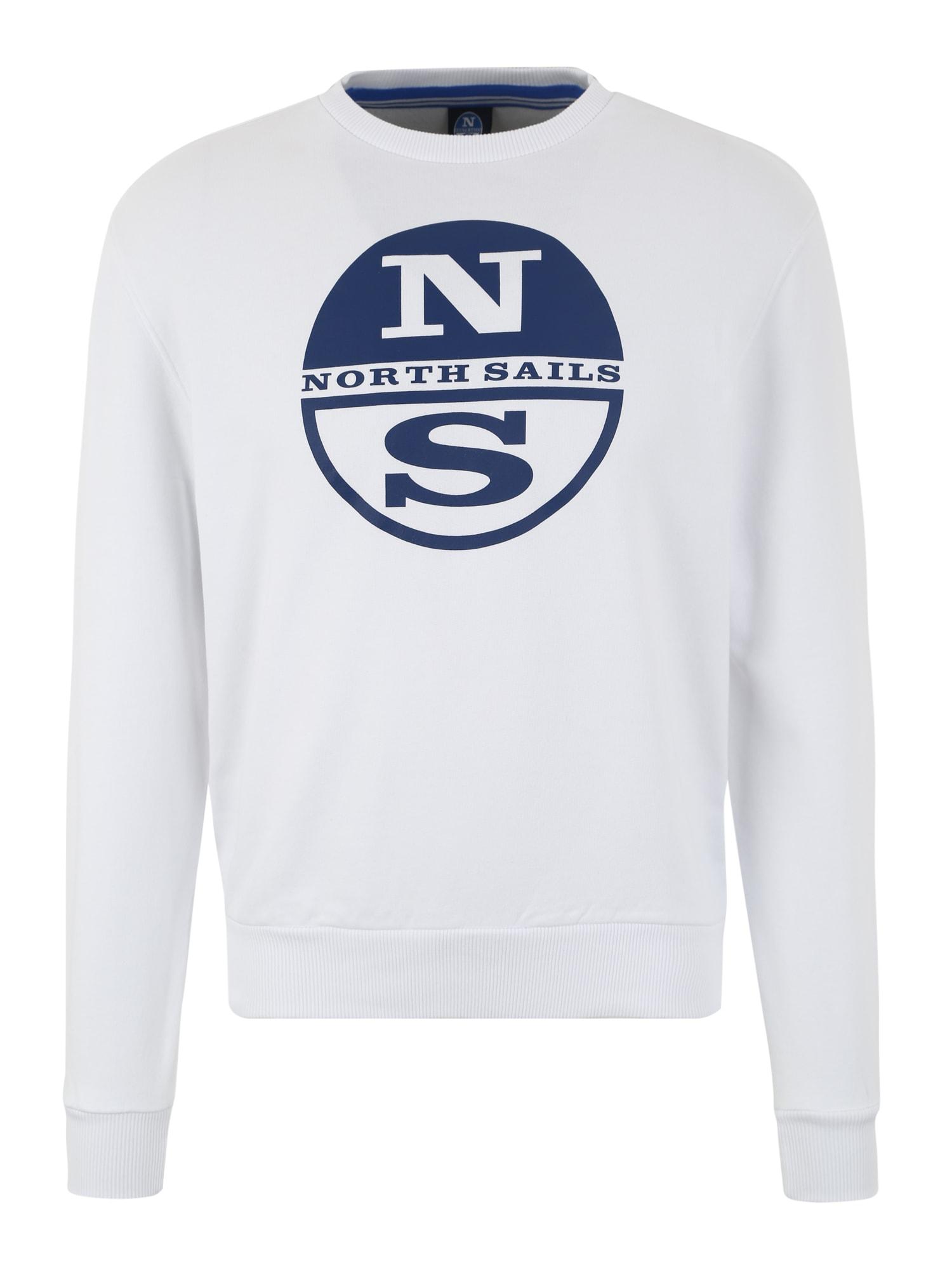 Sportovní mikina modrá bílá North Sails