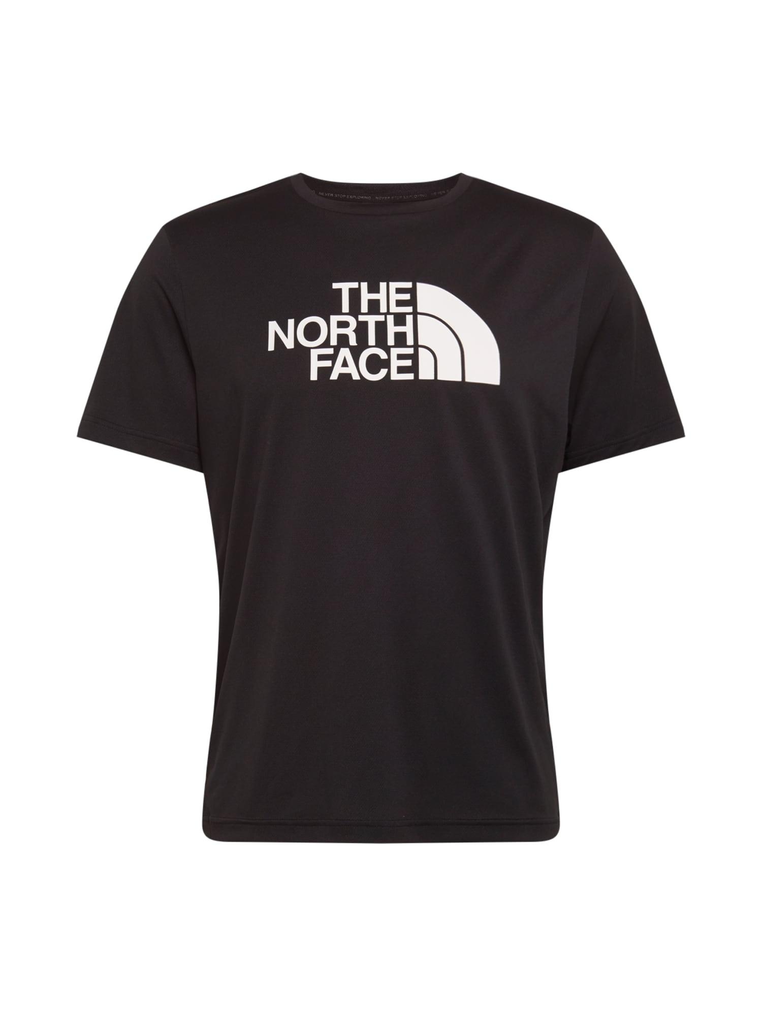 THE NORTH FACE Funkční tričko 'Tanken'  bílá / černá