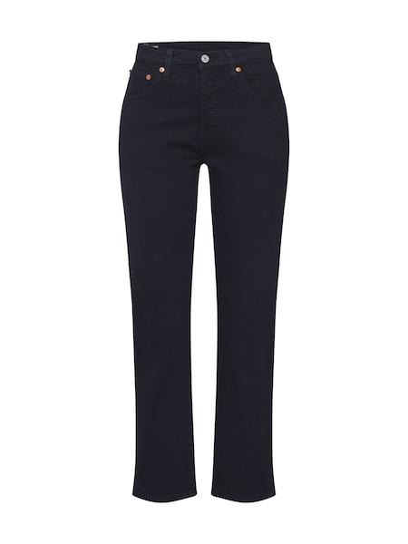 Hosen - Jeans '501® CROP' › Levi's › schwarz  - Onlineshop ABOUT YOU