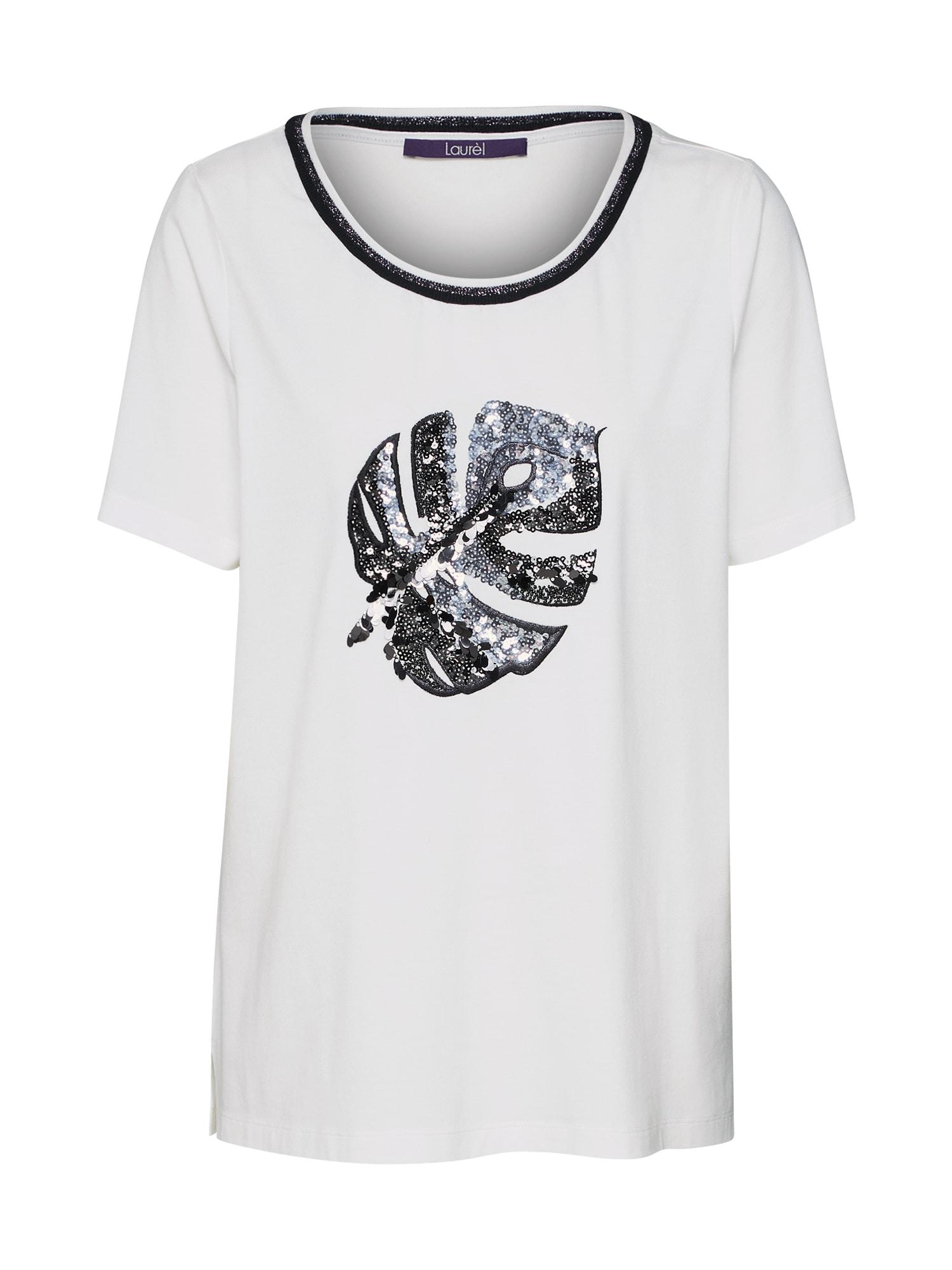 Tričko 41033 černá bílá LAUREL