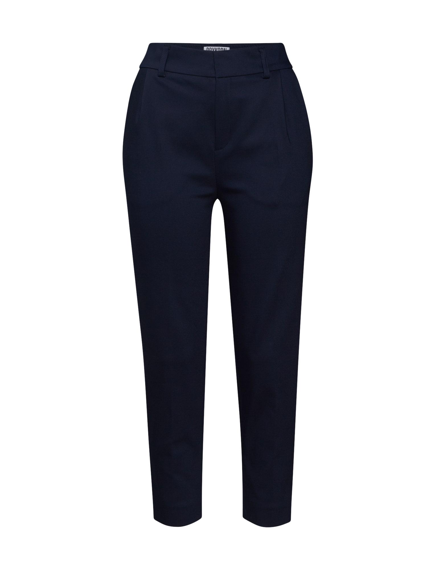 DRYKORN Chino stiliaus kelnės 'FIND' tamsiai mėlyna