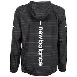 - New Balance Herren Reflective Lite Packable Laufjacke grau,schwarz,silber | 00190325095277