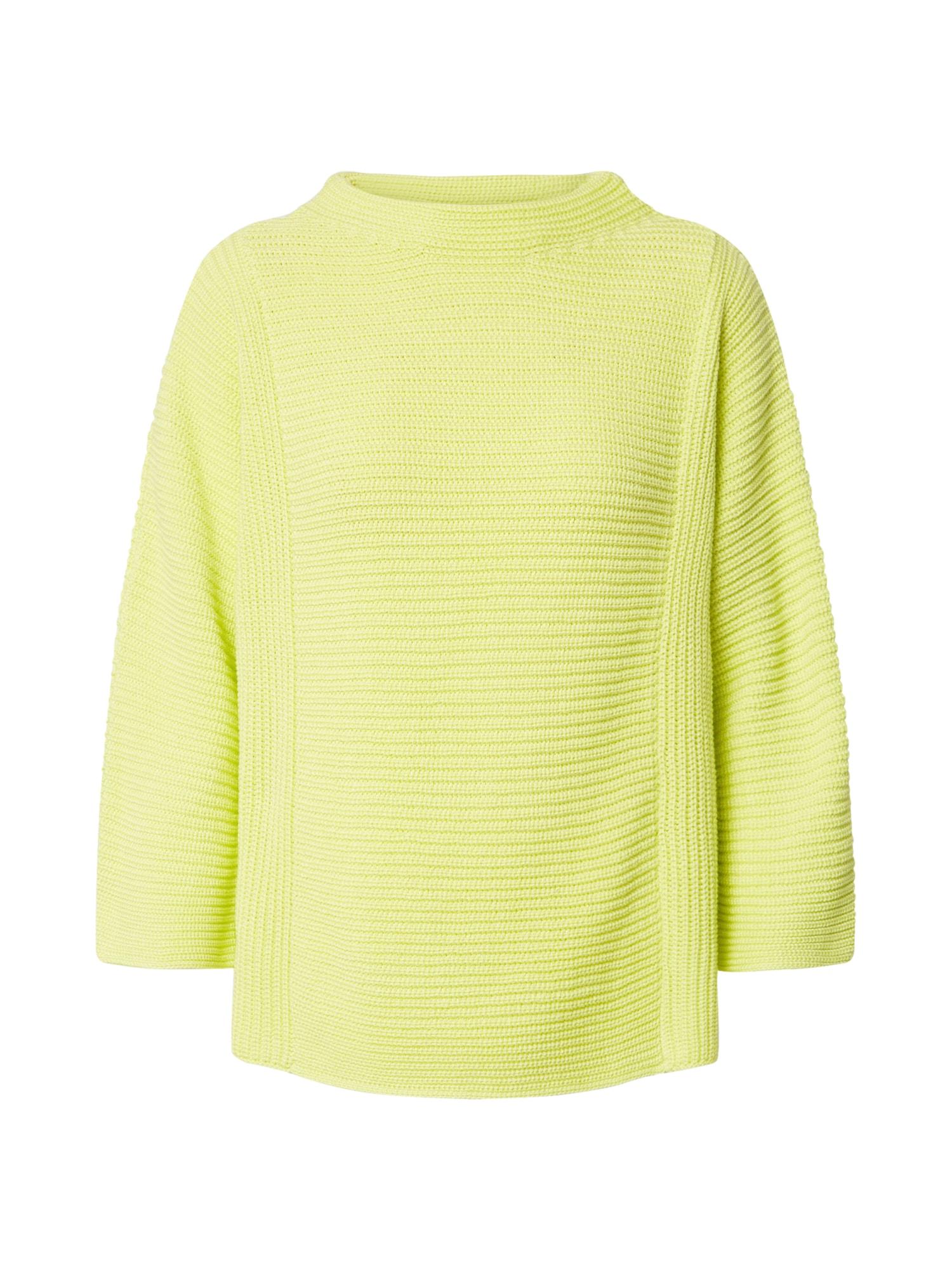 Cartoon Megztinis žaliosios citrinos spalva / šviesiai žalia