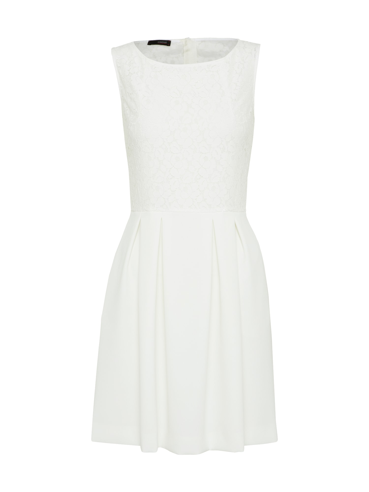 CINQUE Kokteilinė suknelė 'CIESTRON' balta
