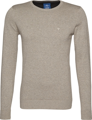 TOM TAILOR Strickpullover 'basic crew-neck sweater'