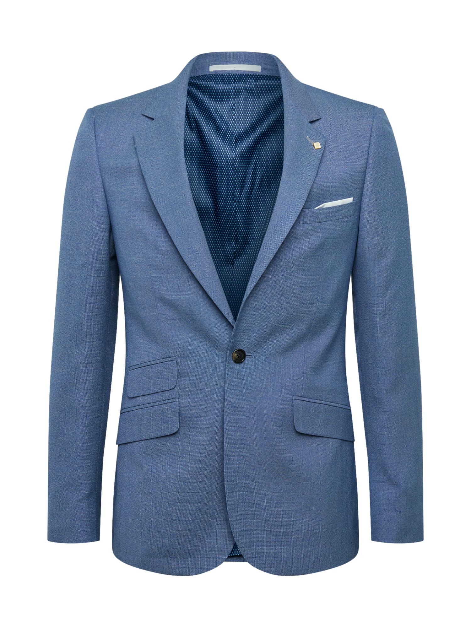 BURTON MENSWEAR LONDON Klasikinis švarkas mėlyna