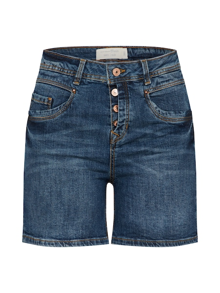 Hosen für Frauen - TOM TAILOR DENIM Shorts blue denim  - Onlineshop ABOUT YOU