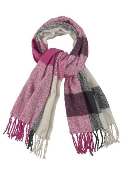 Schals für Frauen - J. Jayz J.Jayz Modeschal hellbeige grau pink  - Onlineshop ABOUT YOU