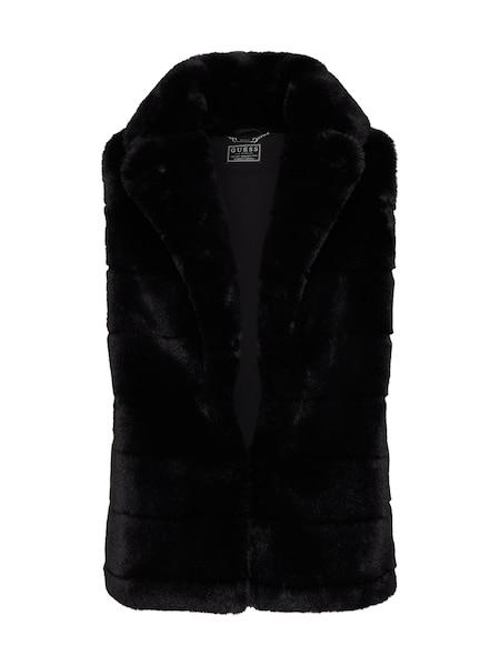 Jacken für Frauen - GUESS Weste 'STEPH VEST' schwarz  - Onlineshop ABOUT YOU