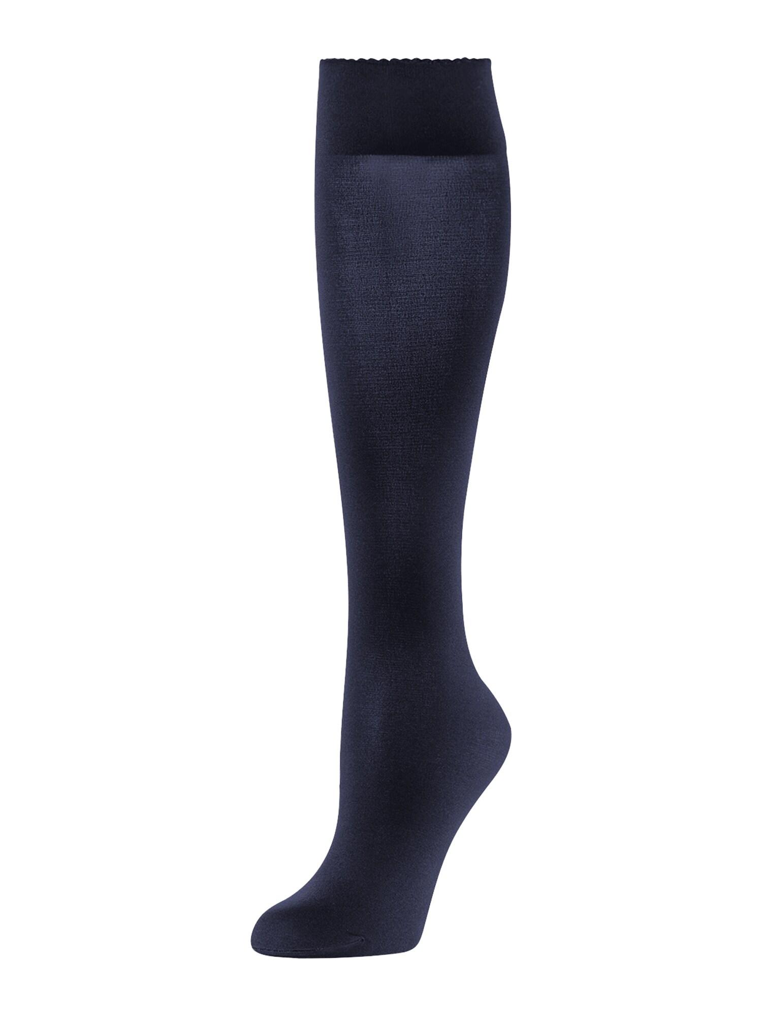 Wolford Ponožky 'Velvet de Luxe 50'  tmavomodrá