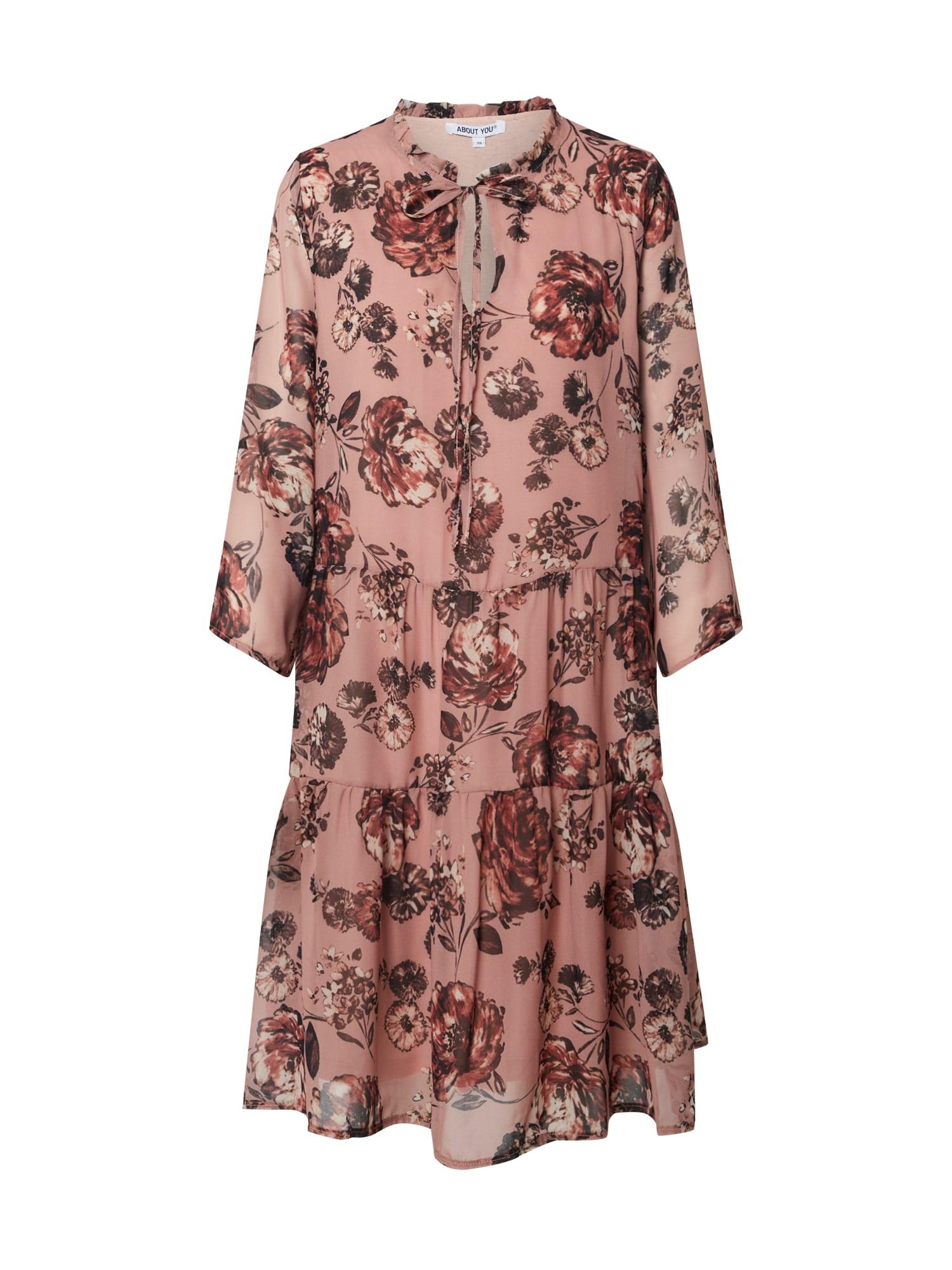 ABOUT YOU Palaidinės tipo suknelė 'Meret' rožinė / rožių spalva