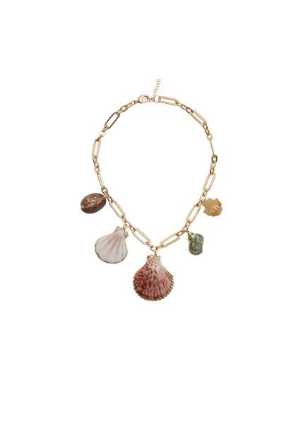 Ketten für Frauen - MANGO Halskette 'Tulum' gold mischfarben  - Onlineshop ABOUT YOU