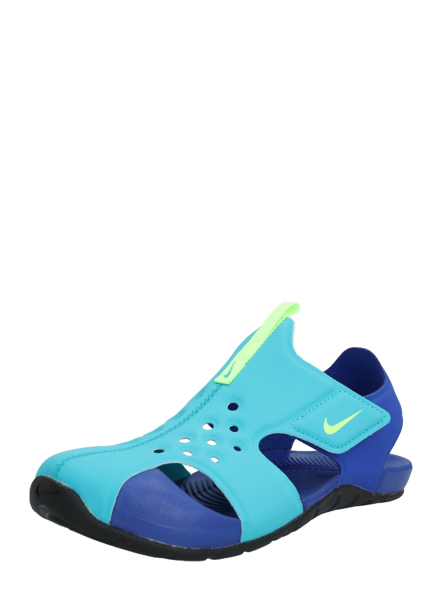 NIKE Plážové / kúpacie topánky  tyrkysová / modré