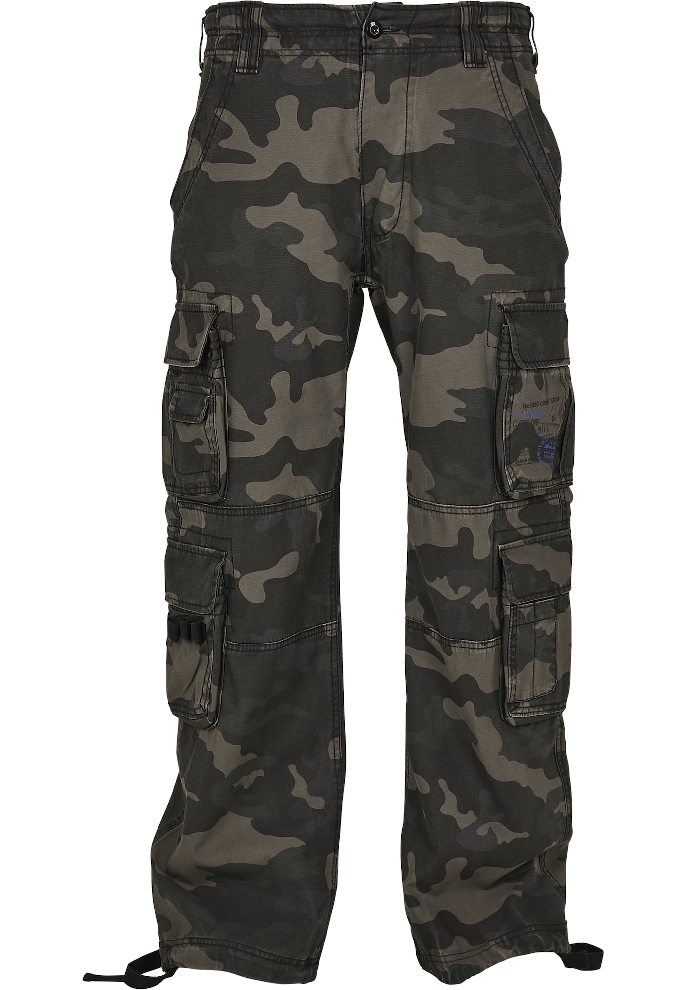 Brandit Laisvo stiliaus kelnės rusvai žalia / alyvuogių spalva / įdegio spalva / šviesiai ruda