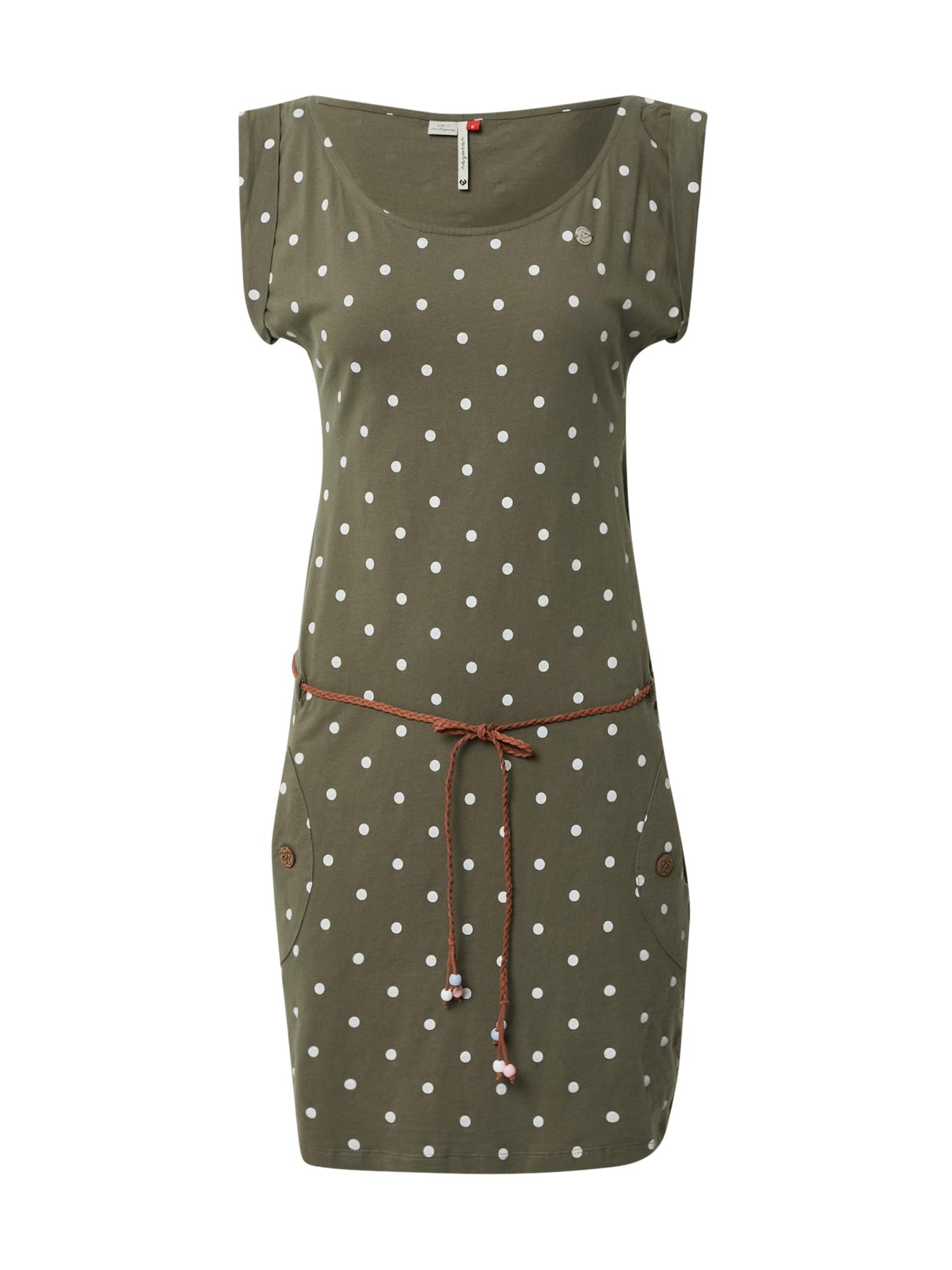 Ragwear Vasarinė suknelė alyvuogių spalva / tamsiai žalia