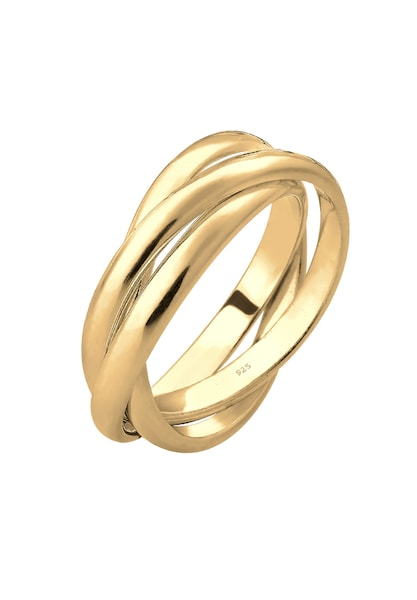 Ringe für Frauen - ELLI Wickelring gold  - Onlineshop ABOUT YOU