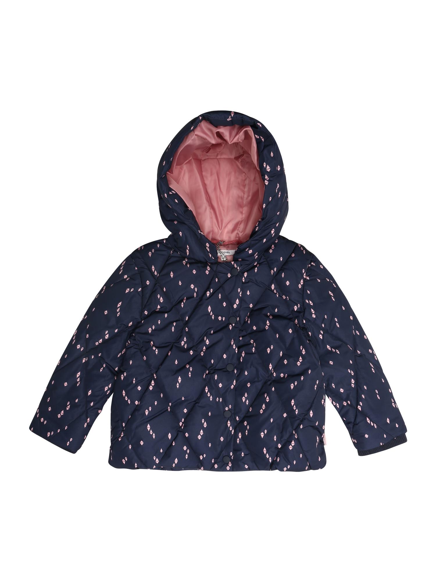 Zimní bunda Varick modrá Noppies