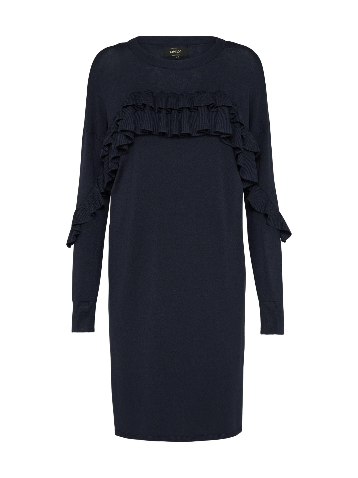 ONLY Šaty  tmavě modrá