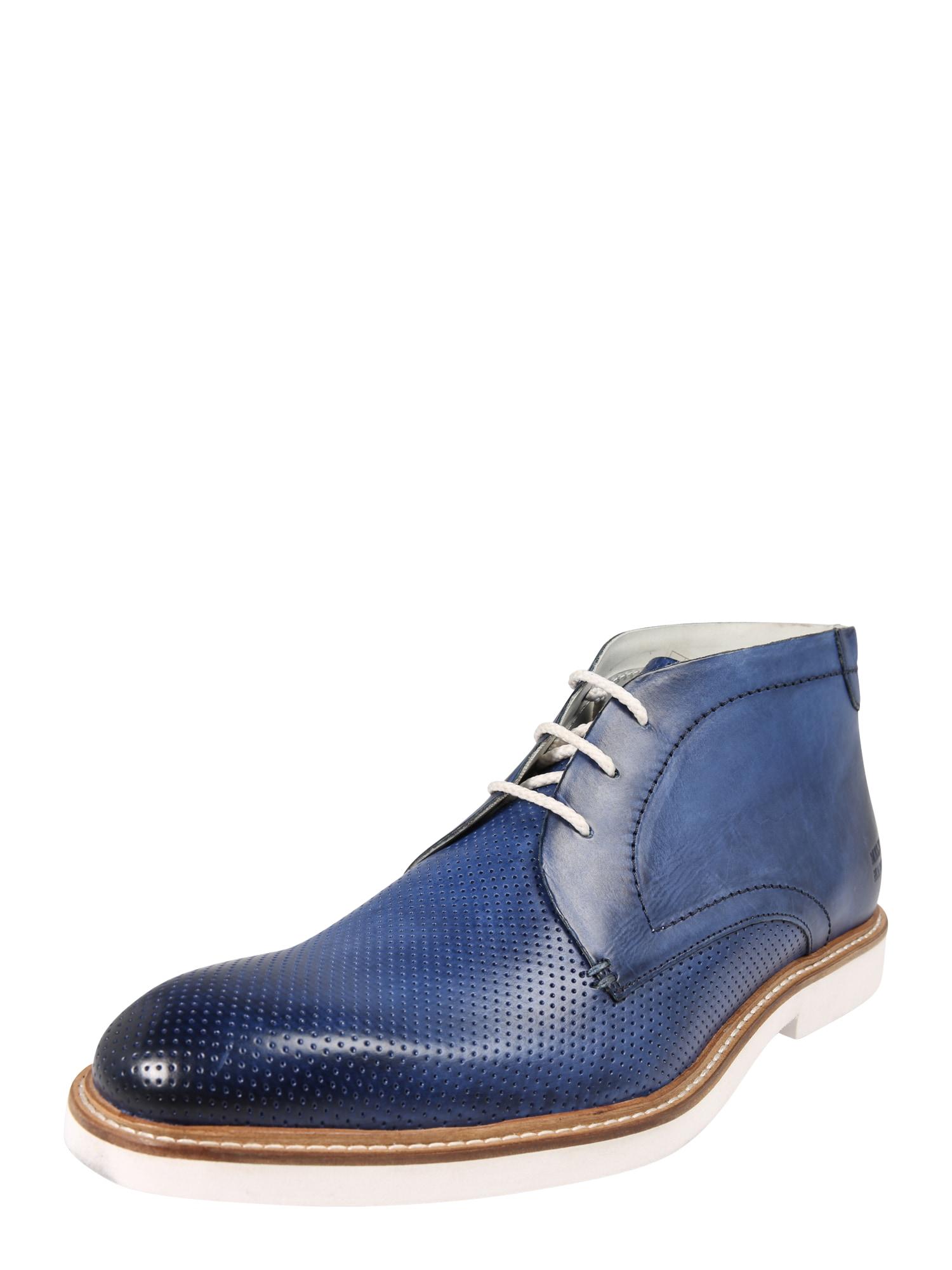Šněrovací boty Felix 1 modrá marine modrá MELVIN & HAMILTON