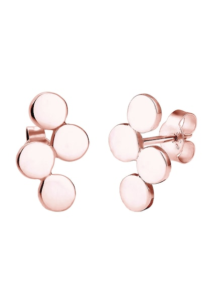 Ohrringe für Frauen - ELLI Ohrringe 'Kreis' rosegold  - Onlineshop ABOUT YOU