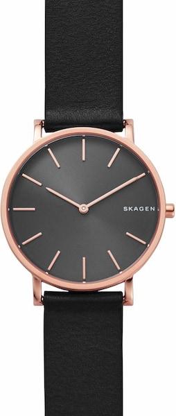 Uhren für Frauen - SKAGEN Quarzuhr 'HAGEN, SKW6447' rosegold schwarz  - Onlineshop ABOUT YOU
