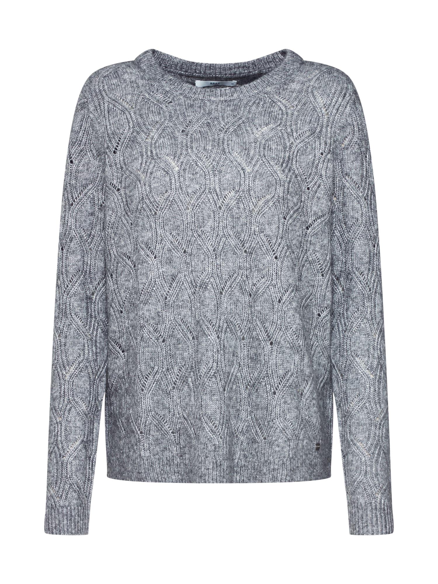 Damen BRAX Pullover 'LISA' gold,  schwarz, grau, orange | 04047223160704