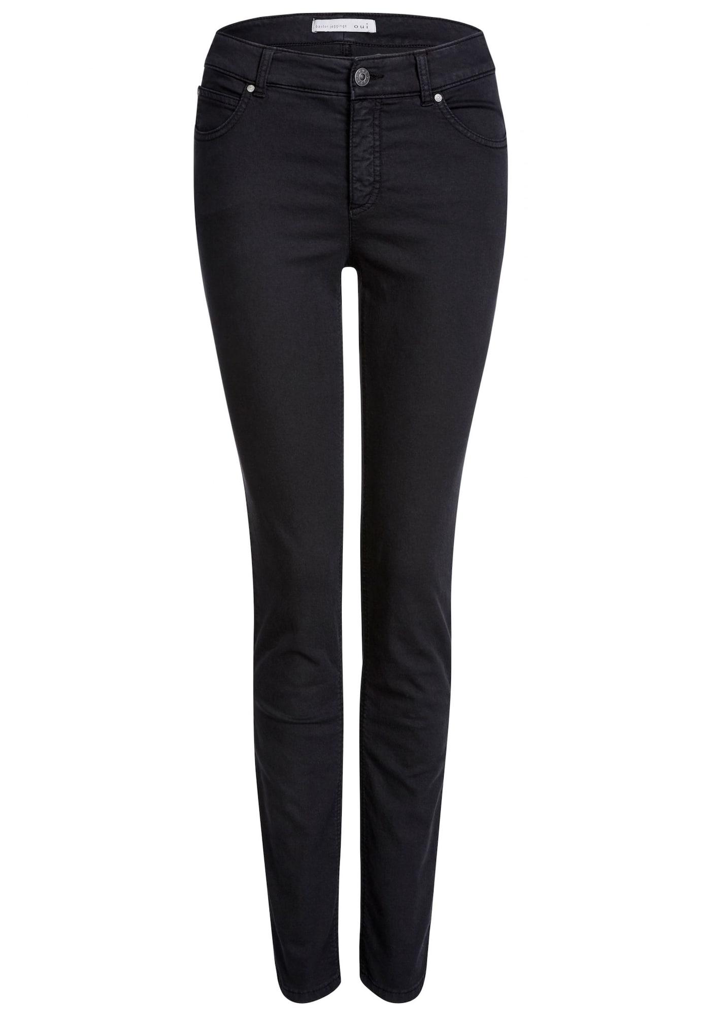 OUI Džegingsai juodo džinso spalva