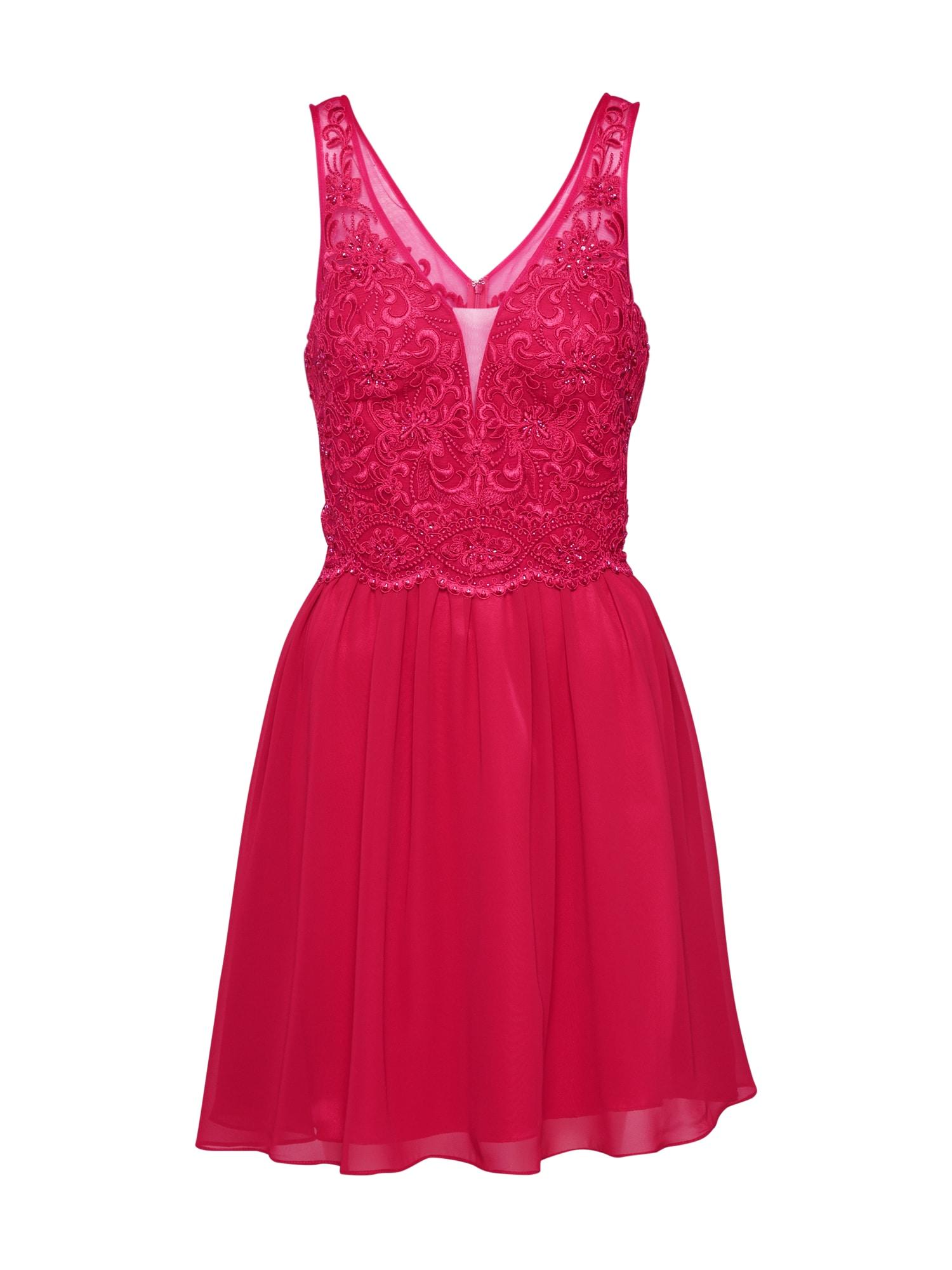 Laona Kokteilinė suknelė vyšninė spalva / rožinė