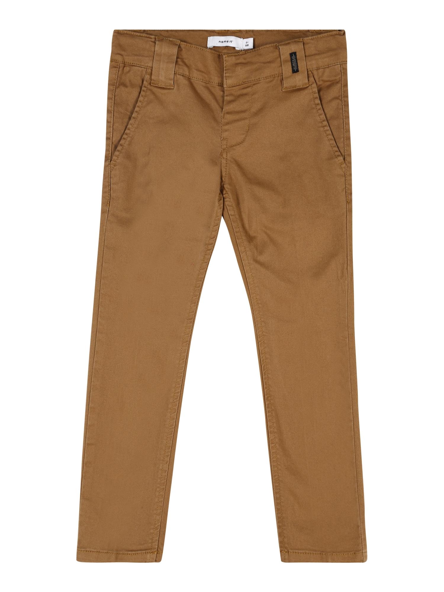 NAME IT Kelnės 'SILAS' karamelės