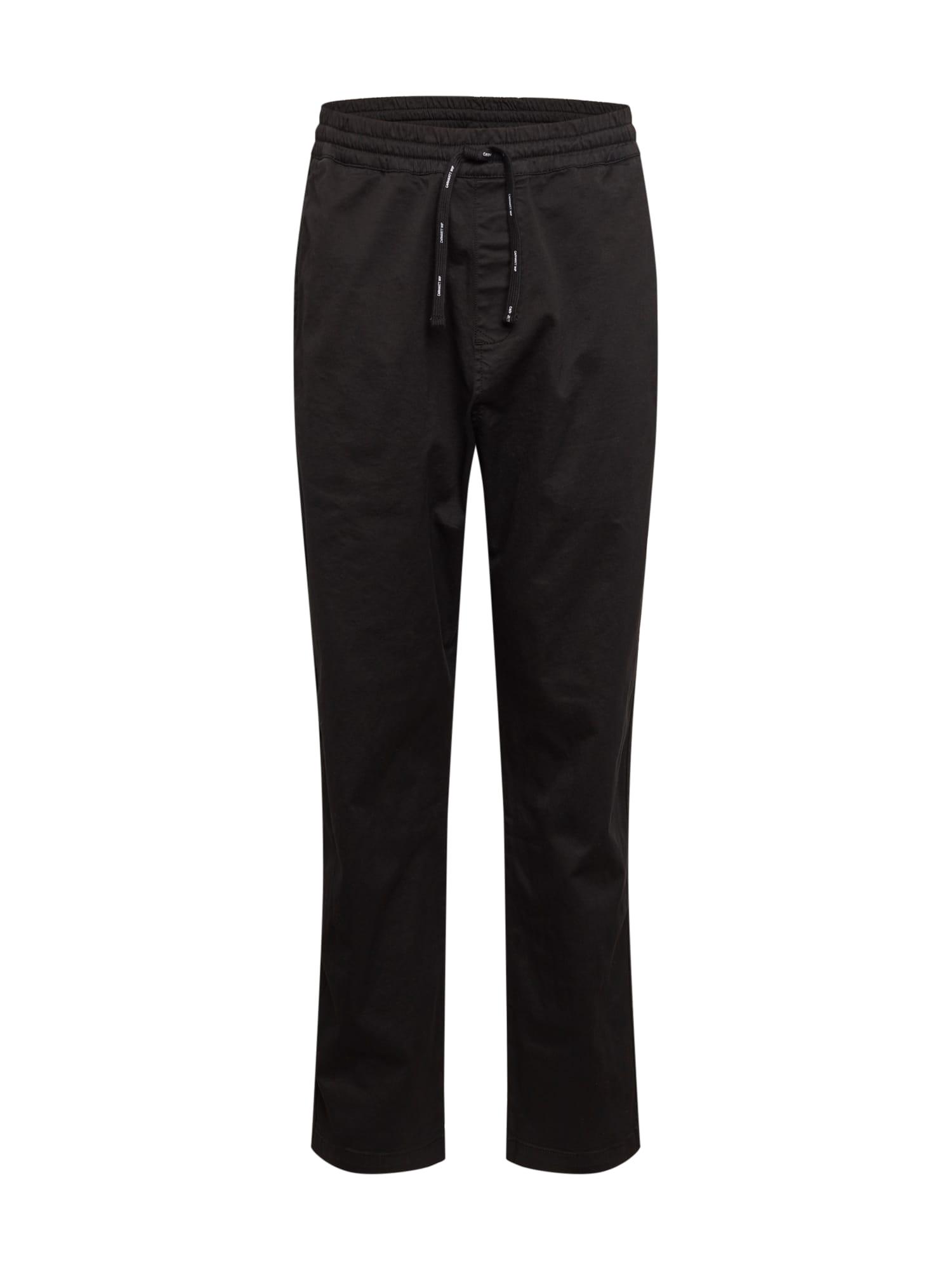 Carhartt WIP Kelnės ' Lawton ' juoda