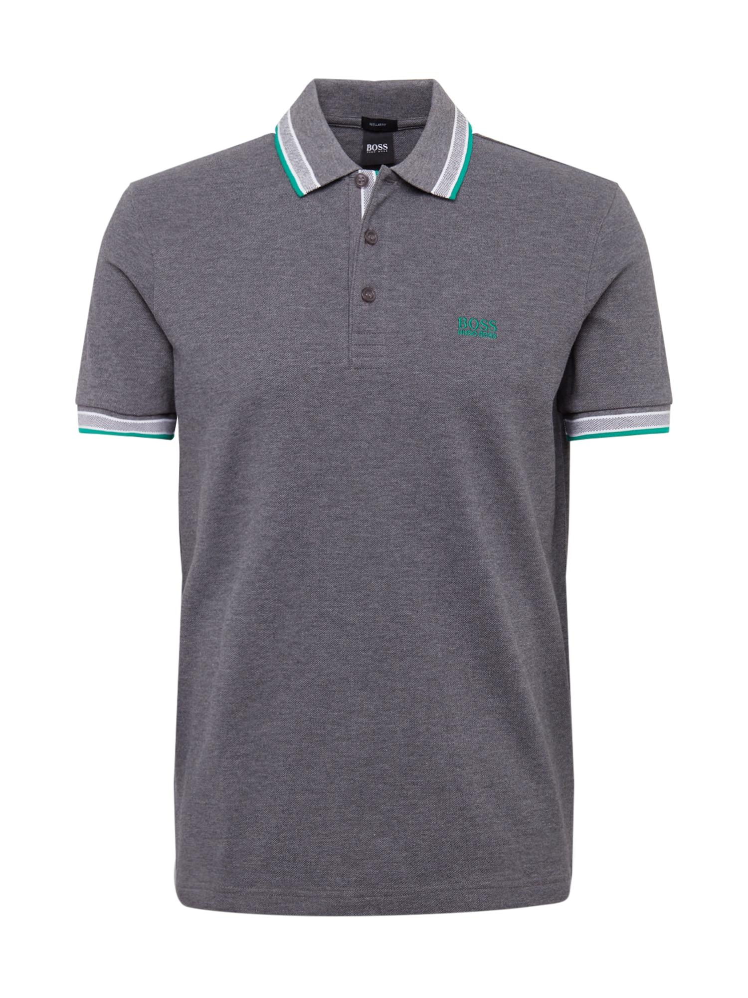 BOSS ATHLEISURE Marškinėliai 'Paddy' pilka