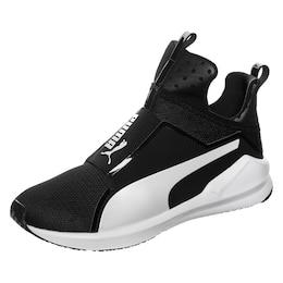 PUMA Damen Sportschuhe Fierce Core schwarz,weiß   04057826852401