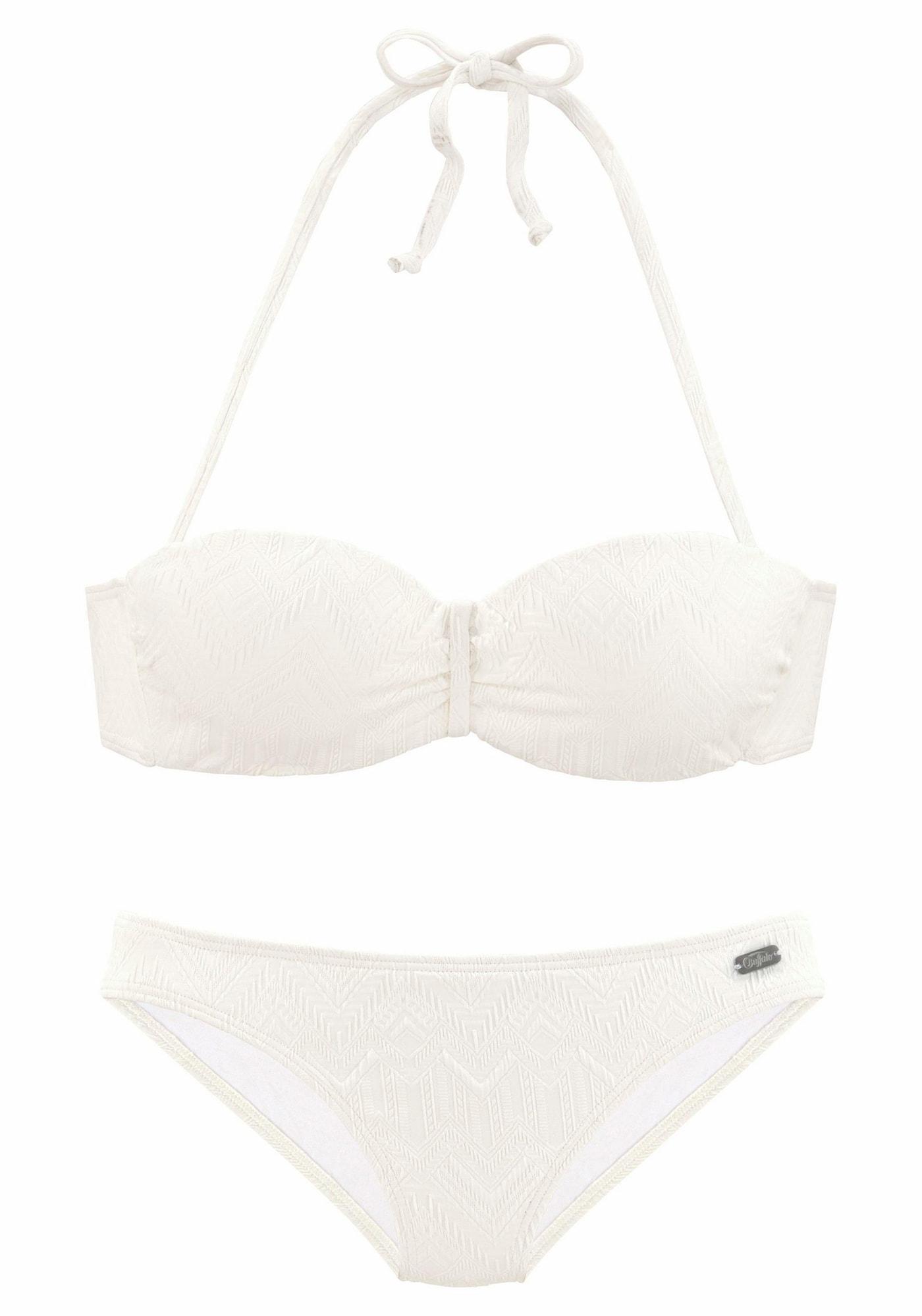 BUFFALO Bikinis vilnos balta