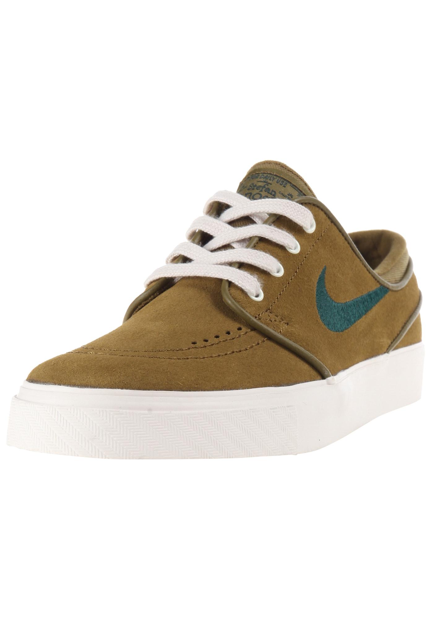 Nike SB, Damen Sneakers laag Zoom Janoski, olijfgroen