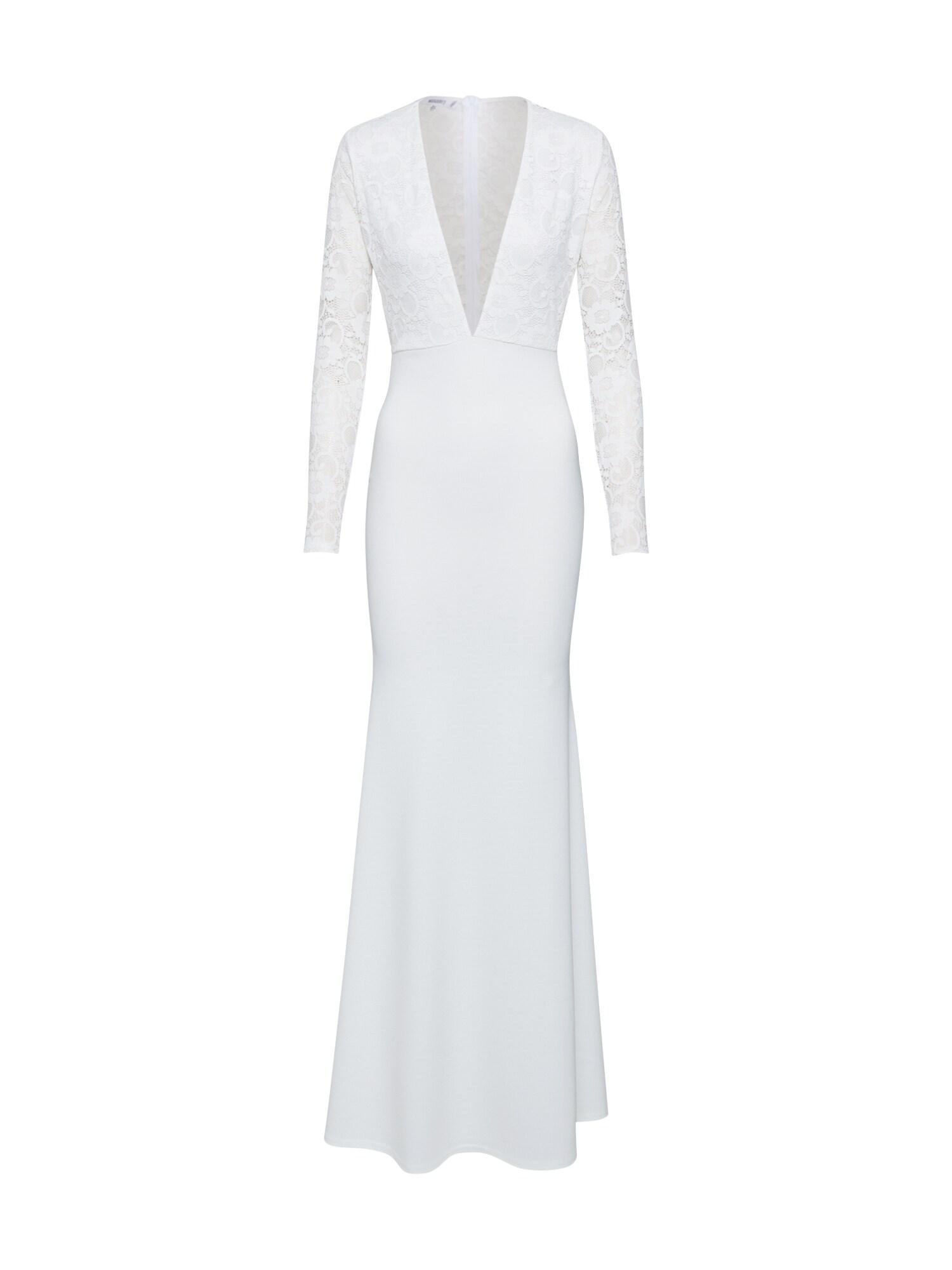 Missguided Vakarinė suknelė 'BRIDAL' smėlio / balta