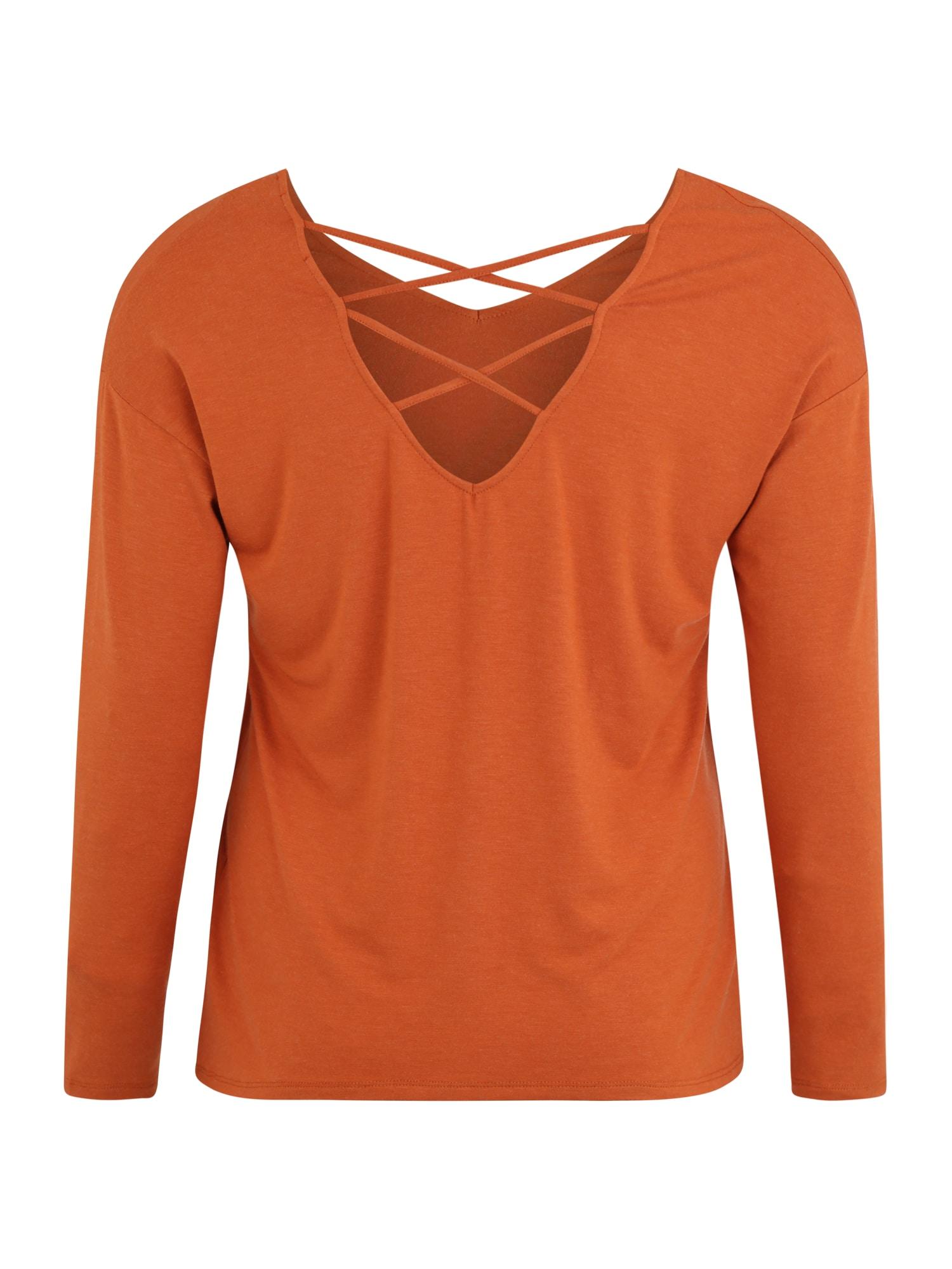 ABOUT YOU Curvy T-shirt 'Lenio'  orange
