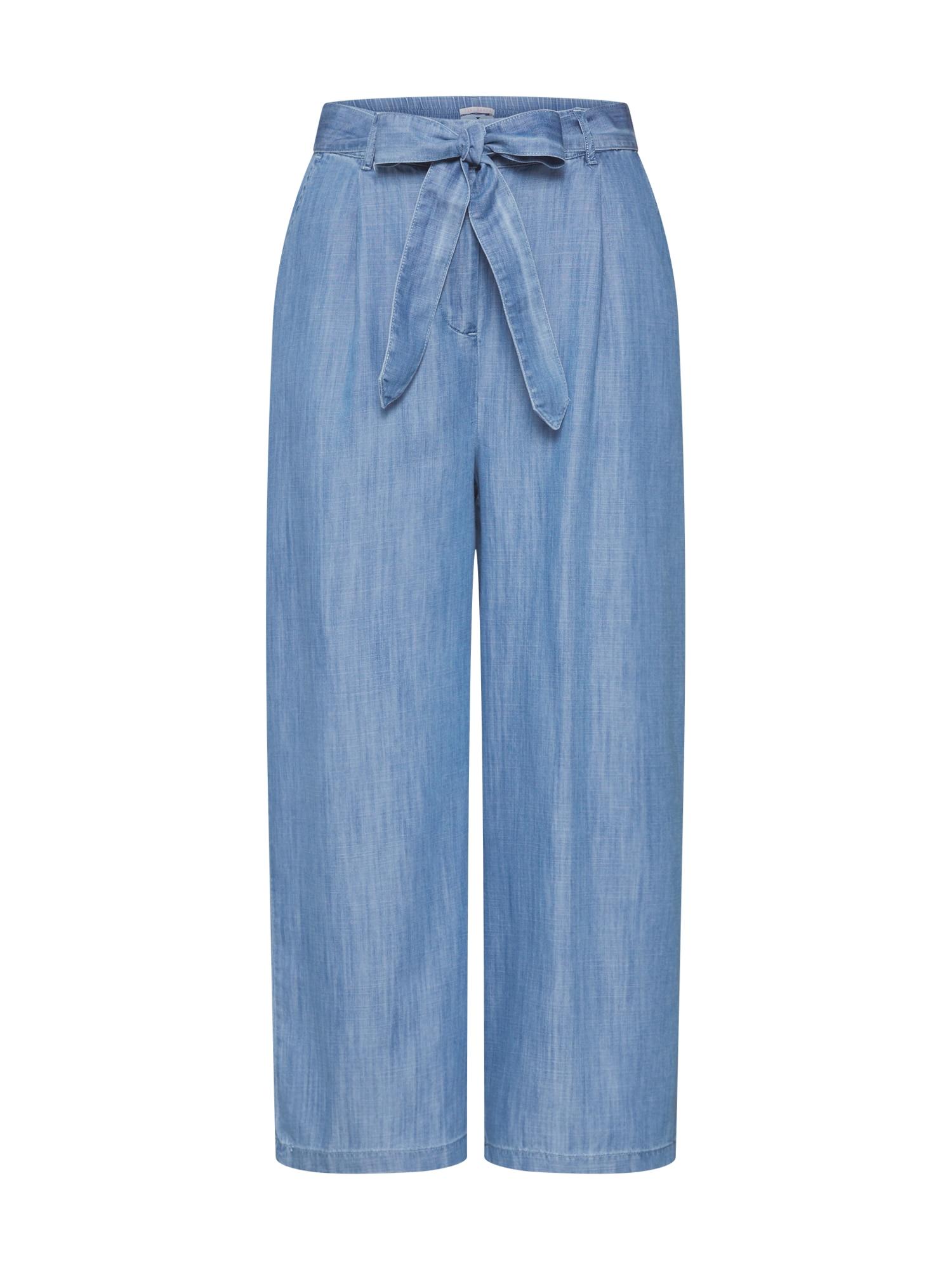 TOM TAILOR Kelnės tamsiai (džinso) mėlyna