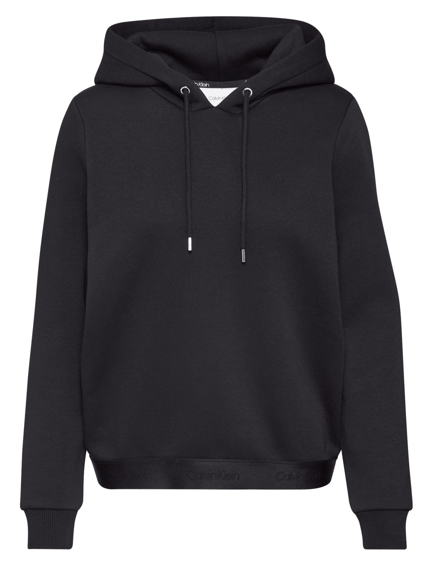 Calvin Klein Megztinis be užsegimo 'ATHLEISURE' juoda